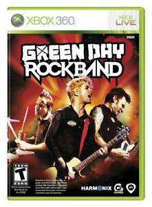 NEW Xbox 360 Green Day Rock Band Game Microsoft Hero RARE SEALED