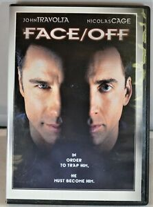 Face/Off (DVD, 2008, Widescreen Sensormatic) Pre-Owned