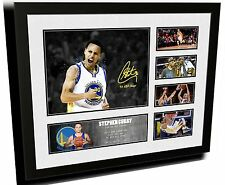 STEPHEN CURRY NBA MVP GOLDEN STATE SIGNED LIMITED EDITION FRAMED MEMORABILIA
