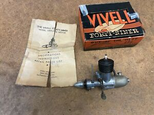The VIVELL .49 Spark Ignition Model Airplane Engine
