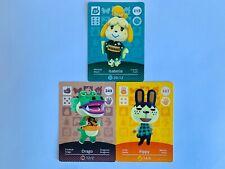Lot de 3 cartes amiibo Animal Crossing - Series 3