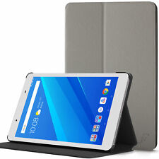 Lenovo Tab 4 8 Case, Stand | Thin & Light Cover for Lenovo Tab 4 8 | Grey