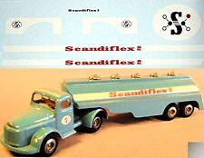 Scania Scandiflex as Autocisterna 1:43 Decalcomania
