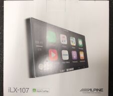 ALPINE ILX-107 DIGITAL MEDIA RECEIVER APPLE CARPLAY USB AUX iHEART SPOTIFY NEW