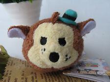 "Disney Tsum 3 THREE LITTLE PIGS-Big Bad Wolf  3.5"" mini Plush Toy"