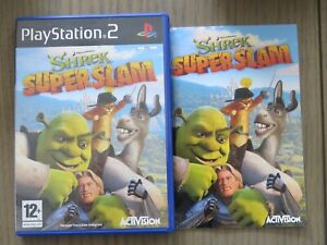 JEU PLAYSTATION 2 PS2 SHREK SUPERSLAM COMPLET EN FRANCAIS