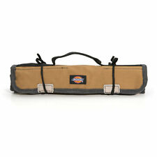 Dickies Work Gear 57007 Grey/Tan Small Wrench Roll Sleeve Hand Tool Bag / Holder