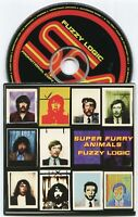 "SUPER FURRY ANIMALS ~ FUZZY LOGIC ~ 1996 UK 12-TRACK ""PROMO"" CD ALBUM"