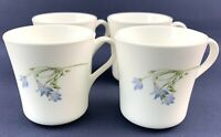 Corning Corelle Set Of 4 Blue Dusk Vintage Coffee/Tea Mugs 3.5in Tall