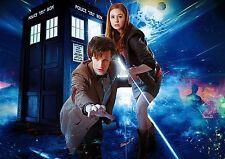 Dr Who A3 repositional cartel de tela 2