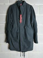 Alpha Industries Defender Fishtail Parka and Liner Jacket Small New Black