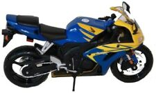 Modelo de motocicleta 1:12 Honda CBR 1000 RR azul/amarillo de maisto
