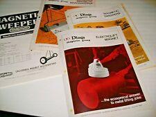 1970s-80s DINGS MAGNETIC GROUP MAGNETIC SWEEPERS.  ELEKTROLIFT MAGNET.