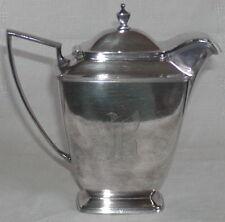 Vintage Pairpoint Sheffield USA Tea Set Hot Water Pot Silverplate 0315