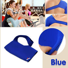 Blue Single Shoulder Support Joint Neoprene Compression Warmth Protective Gear