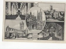 Gloucester Cathedral Multiview Postcard, A411