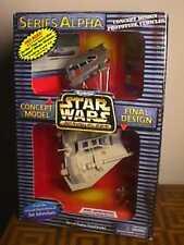 Star Wars Action Fleet Alpha Rebel Snowspeeder -  TWO (2) window VARIANT