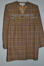 Womens RENA ROWAN SAVILLE Wool Blazer 8P and Skirt 10P Suit 2 Piece Set  NWOT