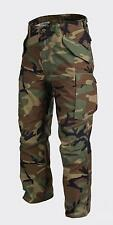 HELIKON tex us m65 pantalon Army pantalon Field pants woodland camouflage large long