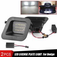 2x For 2003-18 Dodge Ram 1500 2500 3500 License Plate Bumper Light LED Rear Lamp