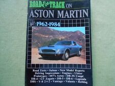 ROAD & TRACK On ASTON MARTIN 1962-84 DB-3S DB-4 DB 5 DB-6 DBS V8 Volante Vantage