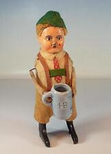 Schuco baile personaje mudito con bierkrug mecanismo vorkrieg made in Germany nº 1 #1112