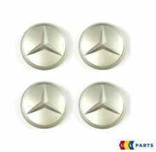 Original MERCEDES BENZ Aleación Rueda Center Tapacubos 4PCS Set A1074000025