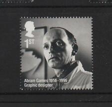 ABRAM GAMES/GB 2014 UM MINT STAMP