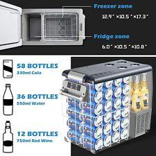 New listing 🧊55L Portable Travel Car Refrigerator Freezer Truck Fridge Camping Dc 12V 24V🧊
