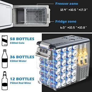 🧊55L Portable Travel Car Refrigerator Freezer Truck Fridge Camping DC 12V 24V🧊