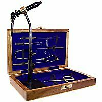 Colorado Anglers Z797 Wooden Fly Tying Standard Tool Kit, Fly Fishing Vise, B.