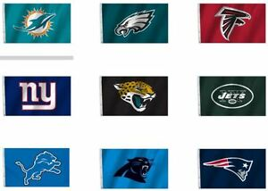 NFL 3'x5' Team Flag 1 Sided All Pro Logo Image By Fremont Die Select Team Below