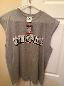 LEHIGH VALLEY IRONPIGS YOUTH XL MAJESTIC TEE T-SHIRT NEW WITH TAG
