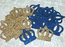 Crown Royal Little Prince confetti die cuts birthday party baby shower first