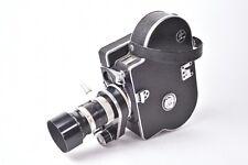 Caméra cinema Paillard Bolex modèle H8 Reflex avec objectif.