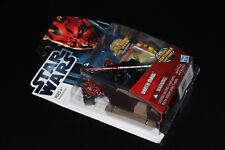 Hasbro Star Wars Movie Heroes Darth Maul w/ Spinning Lightsaber Action 2012