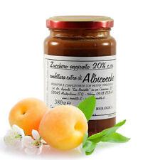 Confettura extra di albicocche bio Marmellata San Benedetto 1 vasetto 380 grammi