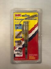 HR 12in1 Precision Screwdriver with Optional Flexible Drive 6 Double Ended Bits