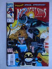 Midnight Sons Unlimited #3   High Grade VF/NM   Ghost Rider   Spider-Man   Zzzax