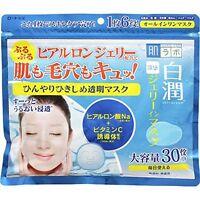 Rohto Hadalabo Shirojyun Hyaluronic Acid Jelly Face Mask 30pc 350mL Shiro jyun