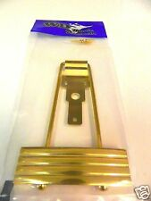 KLUSON KLTP G TRAPEZE TAILPIECE GOLD FOR ARCHTOP GUITARS