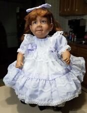 "Pat Secrist MyLo 22"" Doll 1993 red hair and blue eyes"