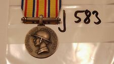 Orden Frankreich Feuerwehr Verdienstmedaille silbern (j583-)