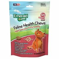 Emerald Pet - Feline Cat Treat, Cat Chew, Chewy Cat Snack Treats, Urinary