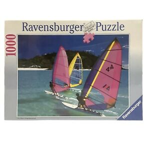 Ravensburger WIND SURFING Puzzle 1000 Pcs No. 158393 Vintage 1992  NEW SEALED