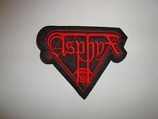 ASPHYX - LOGO Embroidered PATCH Bolt Thrower Benediction Morbid Angel Obituary