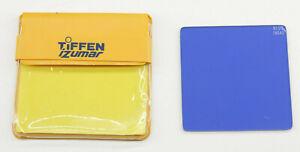 "Tiffen iZumar - 2 5/8"" Square Blue 80A Filter - Fair Glass - C1146"