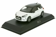 Citroen DS 3 pearl white brown roof white 1:43 Norev 155260
