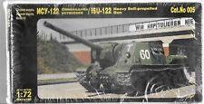 MAC ISU-122 Heavy Self Propelled Gun in 1/72 005