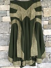 JUNYA WATANABE skirt COMME des GARCONS army green rare art piece s.L classic